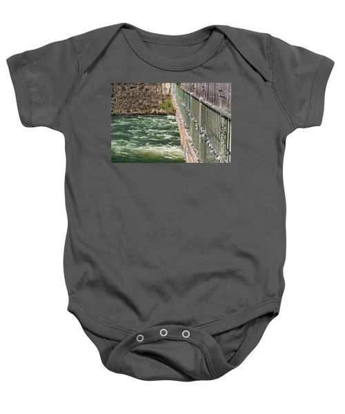 Augusta Canal Headgates - Augusta Ga Baby Onesie