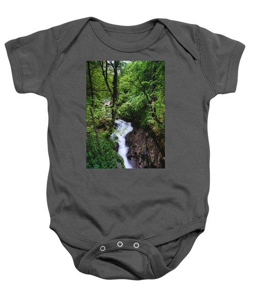 Bela River, Balkan Mountain Baby Onesie