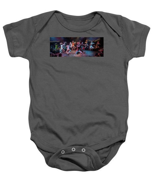 Cats In The Air Baby Onesie