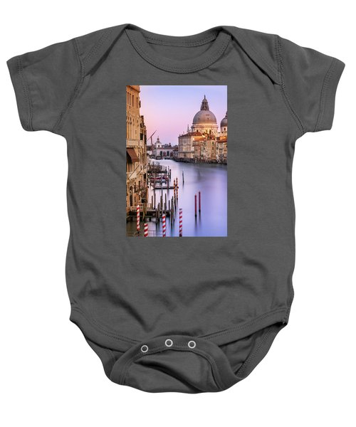 Evening Light In Venice Baby Onesie