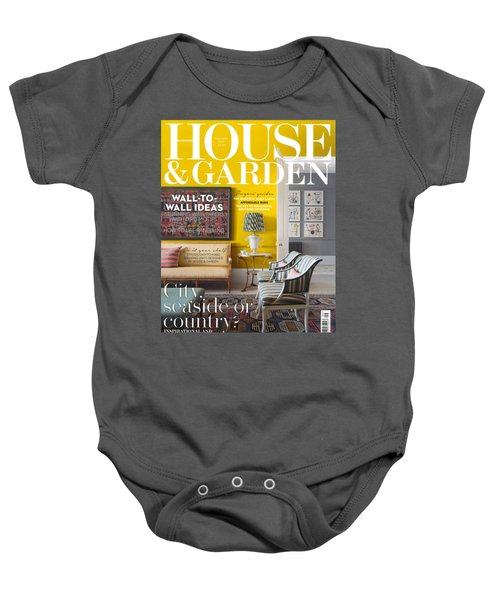 House And Garden September Baby Onesie
