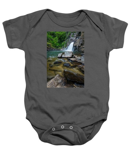 Linville Gorge - Waterfall Baby Onesie