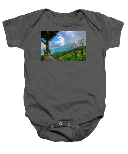 Observation Tower View Baby Onesie