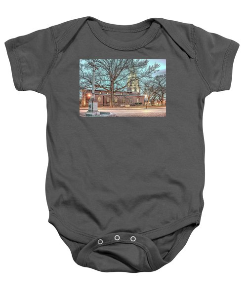 Saint Annes Circle With Fountain Baby Onesie