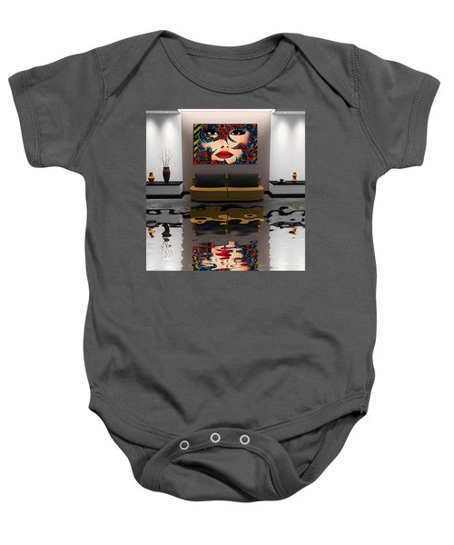 Stay On The Track Baby Onesie