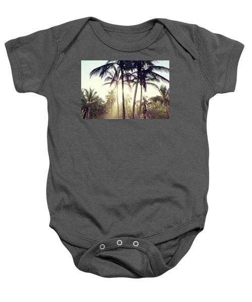 Ticla Palms Baby Onesie