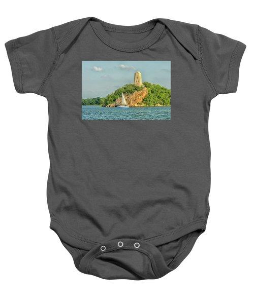 Tucker Tower Baby Onesie