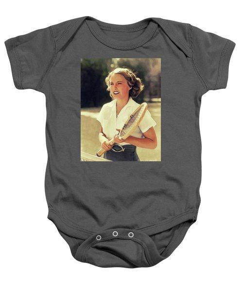 Barbara Stanwyck, Vintage Movie Star Baby Onesie