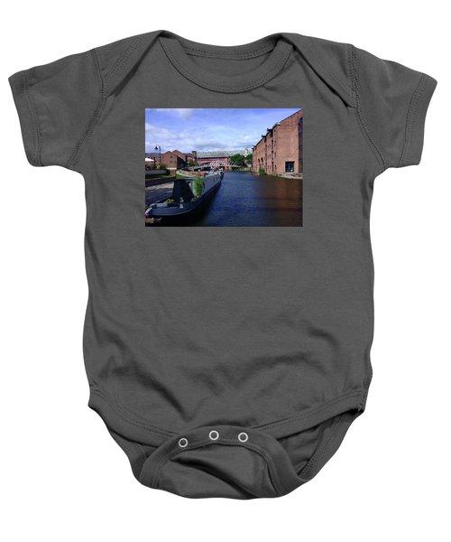 13/09/18  Manchester. Castlefields. The Bridgewater Canal. Baby Onesie