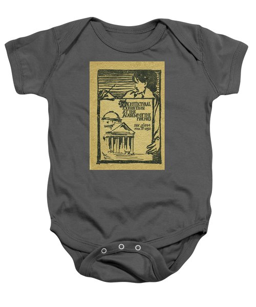 1894-95 Catalogue Of The Architectural Exhibition At The Pennsylvania Academy Of The Fine Arts Baby Onesie