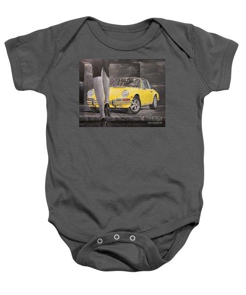 1968 Porsche 911 Targa Baby Onesie