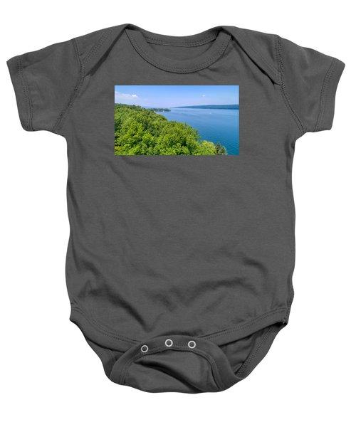 Cayuga Lake  Baby Onesie