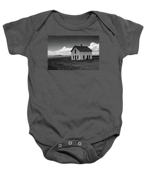 Old Abandoned House In Farming Area Baby Onesie