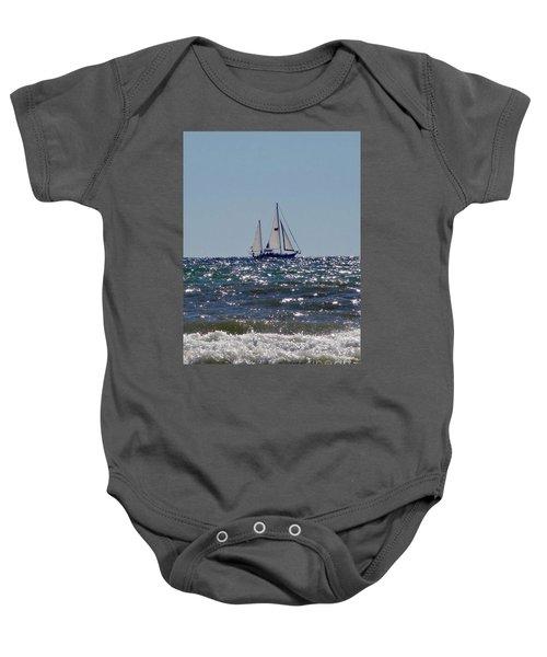 Sailboat  Baby Onesie