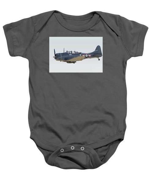 Vintage World War II Dive Bomber Baby Onesie