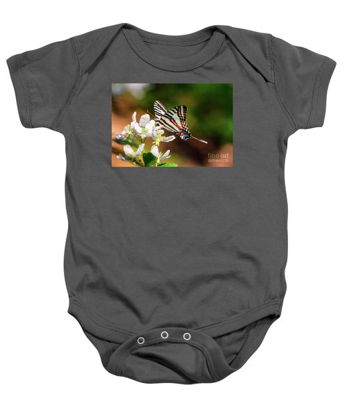 Zebra Swallowtail Baby Onesie