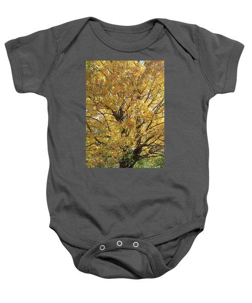 2018 Edna's Tree Up Close Baby Onesie