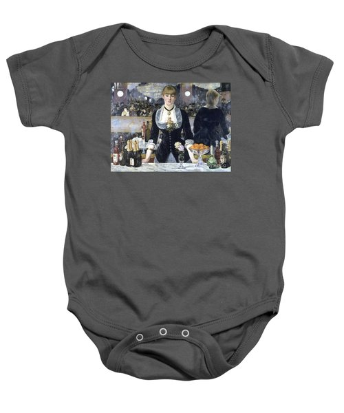 A Bar At The Folies Bergere Baby Onesie