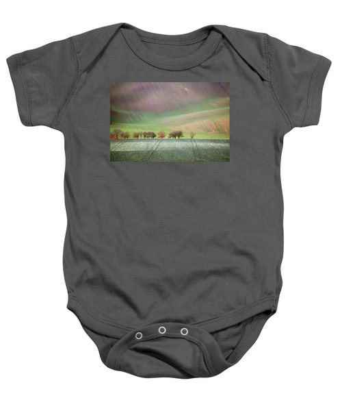 Autumn In South Moravia 3 Baby Onesie