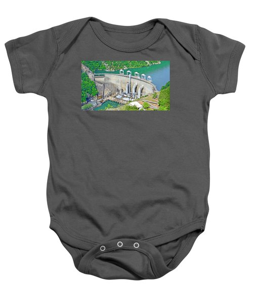 Smith Mountain Lake Dam Baby Onesie
