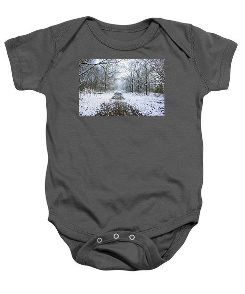 30/01/19  Rivington. Lower Barn. Arboretum Path. Baby Onesie