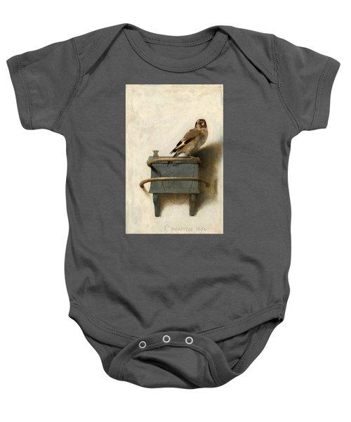 The Goldfinch Baby Onesie
