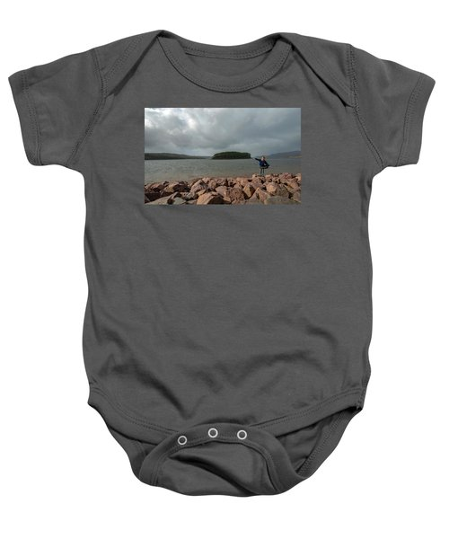 A Charming Little Girl In The Isle Of Skye 1 Baby Onesie