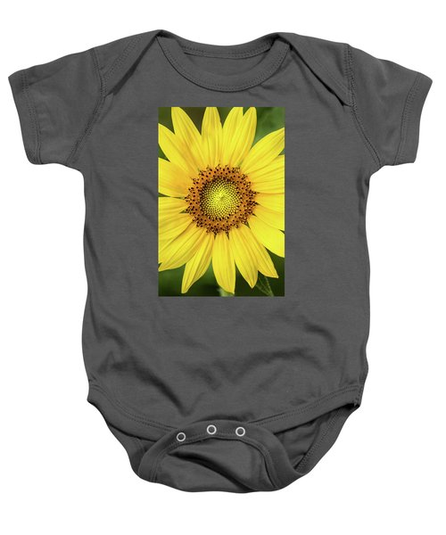 A Perfect Sunflower Baby Onesie