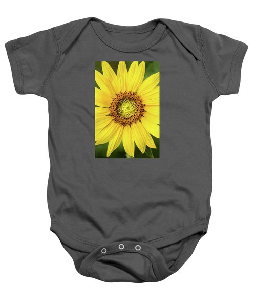 A Perfect Sunflower Baby Onesie