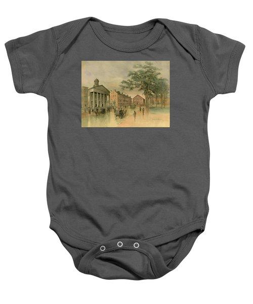 A Southwestern View Of Washington Square Baby Onesie