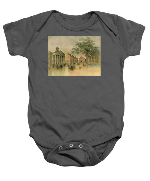 A Southwestern View Of Washington Square Baby Onesie