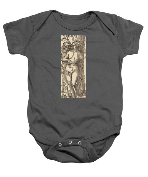 Adam And Eve, 1519 By Grien Baby Onesie