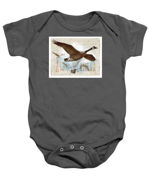 Aero Canada Baby Onesie