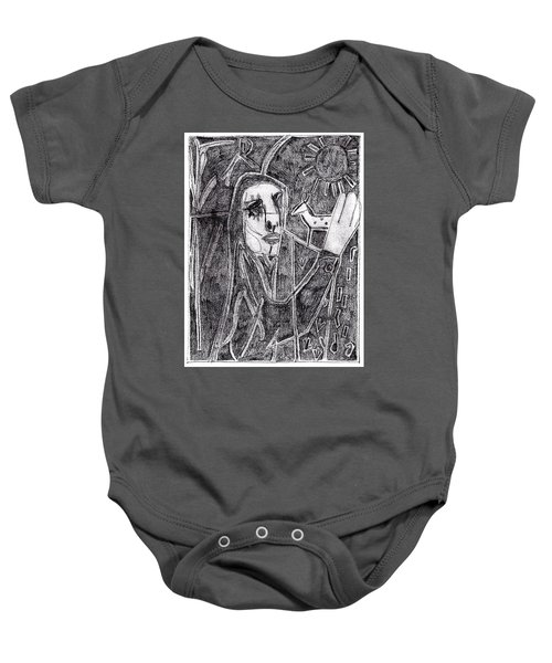 After Childish Edgeworth Pencil Drawing 10 Baby Onesie