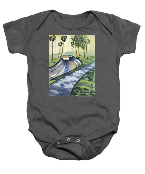 Afternoon In The Park Baby Onesie