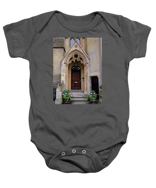 All Are Welcome Baby Onesie