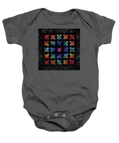 All The Colors Baby Onesie