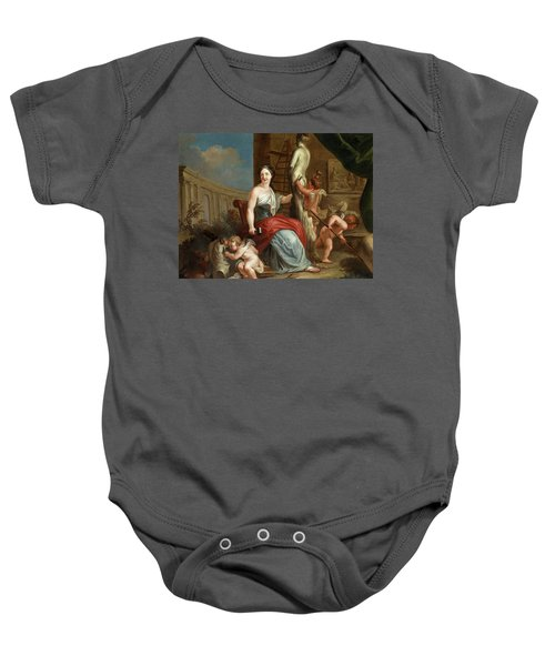 Allegory Of Sculpture And Architecture Baby Onesie