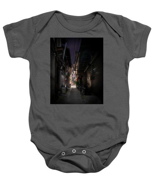 Alleyway On Old West Street Baby Onesie