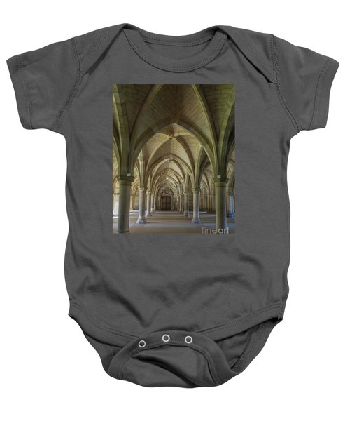 Along The Cloisters Baby Onesie