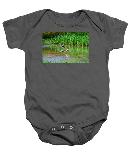American Avocets Baby Onesie