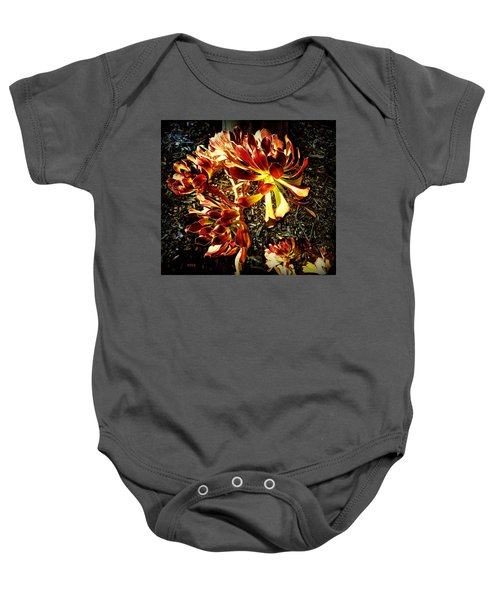 An Old - Fashioned Girl Floral Baby Onesie
