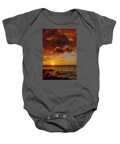 And Then The Sun Set Baby Onesie