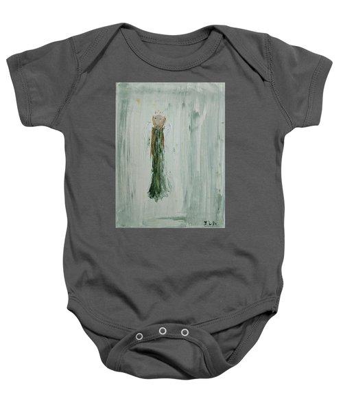 Angel In Green Baby Onesie