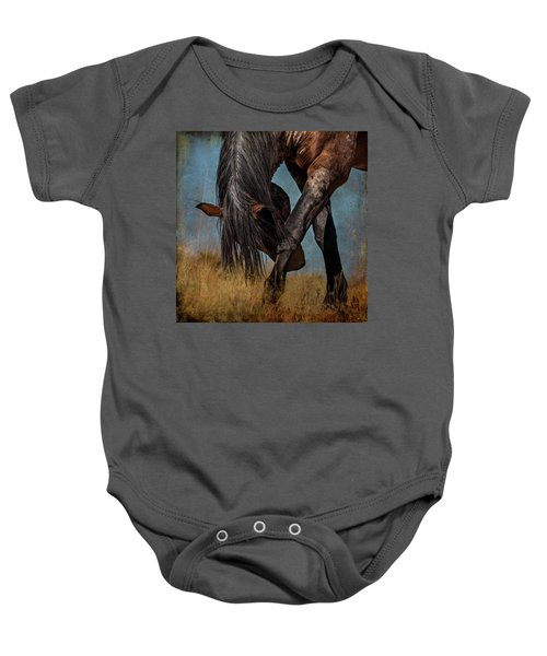 Angles Of The Horse Baby Onesie