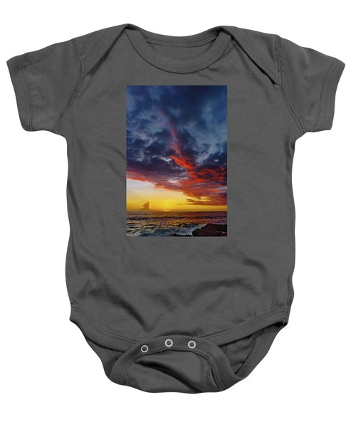 Another Colorful Sky Baby Onesie