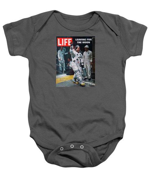 Apollo 11 Life Magazine Cover Baby Onesie