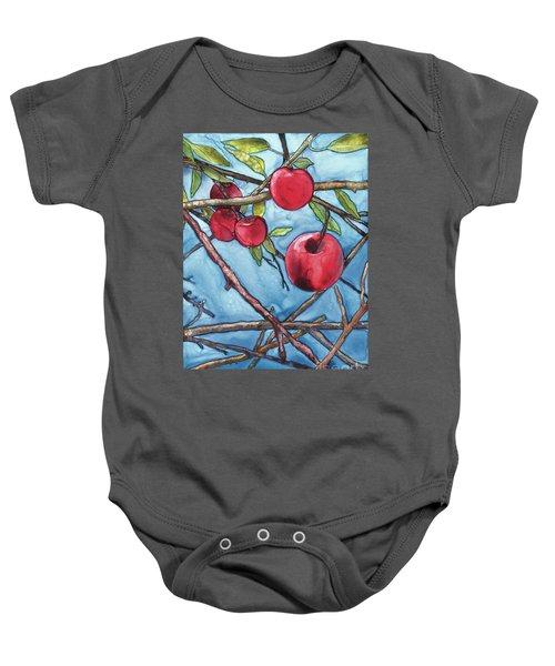 Apple Harvest Baby Onesie