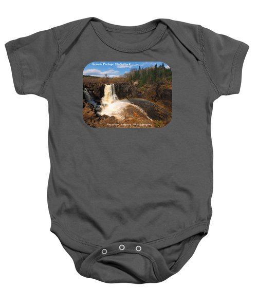 High Falls Rainbow Baby Onesie