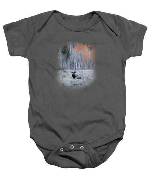 Moose And Aspen Baby Onesie
